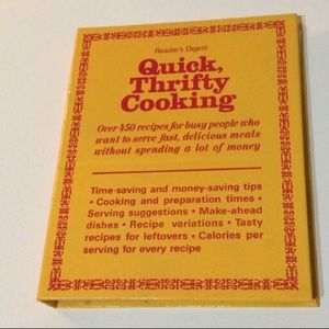 🦋New Listing🦋Quick Thrifty Cooking Cookbook